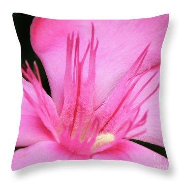 Oleander Professor Parlatore 3 Throw Pillow