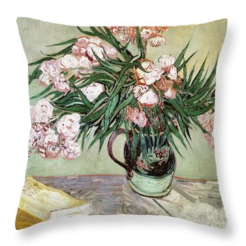 Blossoms Throw Pillows