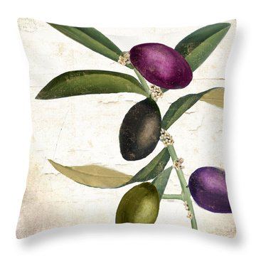 Olive Branch Iv Throw Pillow