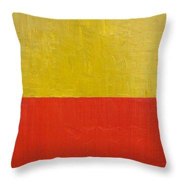 Light Paint Throw Pillows