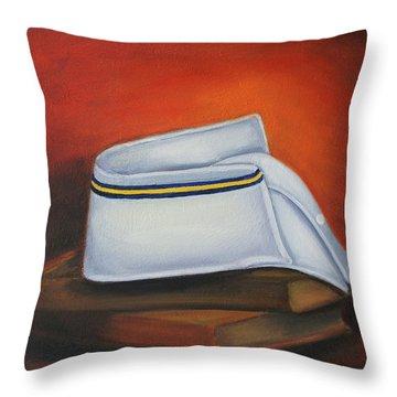 Olivet Nazerene University  Throw Pillow by Marlyn Boyd