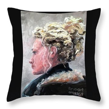 Olivia 2 Throw Pillow