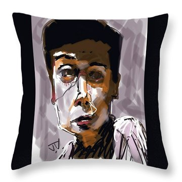 Olivia Throw Pillow by Jim Vance