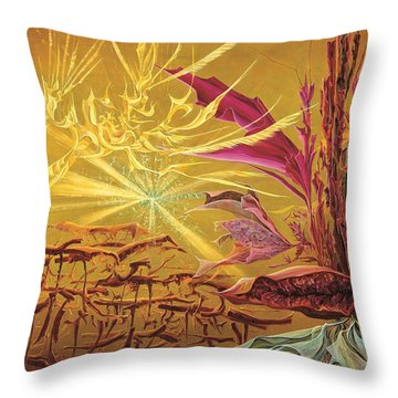 Olivier Messiaen Landscape Throw Pillow