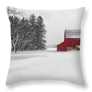 Olsen Farm 1 Throw Pillow