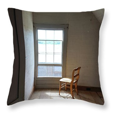 Olson House Chair And Window Throw Pillow