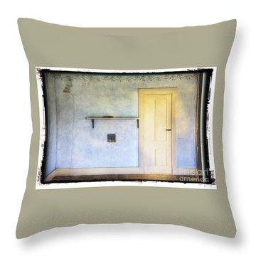Olson White Door Throw Pillow