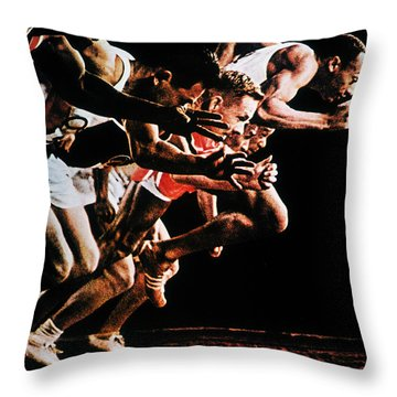 Olympic Games, 1964 Throw Pillow by Granger