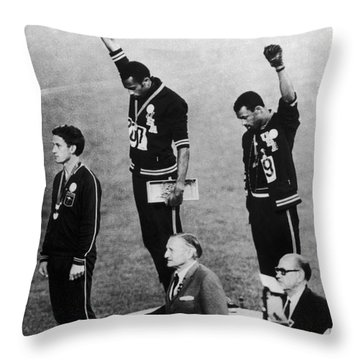 Olympic Games, 1968 Throw Pillow