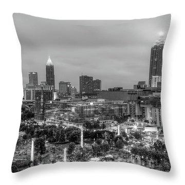 Olympic Park, Atlanta Throw Pillow