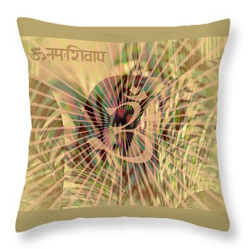 Throw Pillow featuring the photograph Om Enigma by Robert G Kernodle