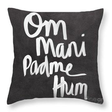 Om Mani Padme Hum Throw Pillow