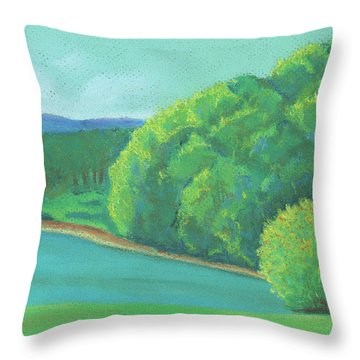 Omega Morning Throw Pillow