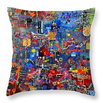 On A Chip Throw Pillow