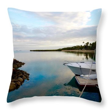 On A Clear Day Throw Pillow