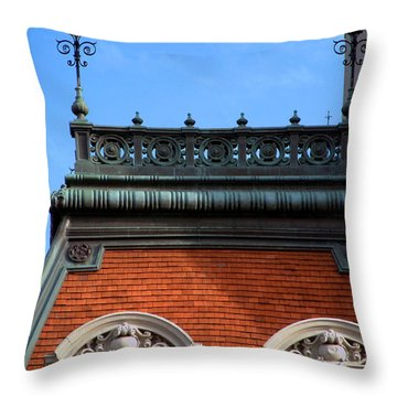 Throw Pillow featuring the photograph On A Clear Day by RC DeWinter