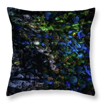 On A Cold Winter Night Throw Pillow by Mimulux patricia no No