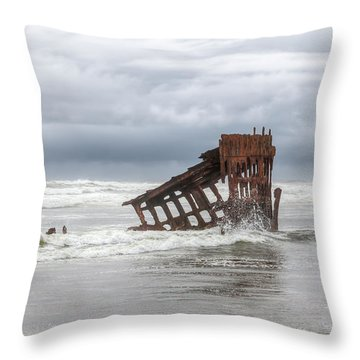 On A Day Like This Throw Pillow by Kristina Rinell
