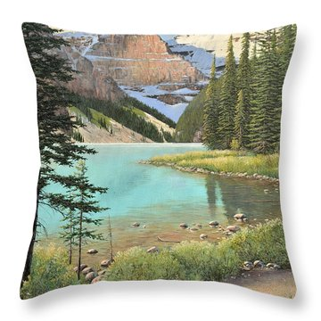 On A Summer's Day Throw Pillow