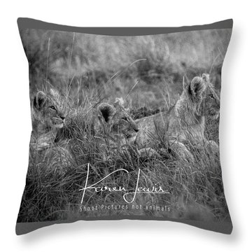 On Alert Throw Pillow