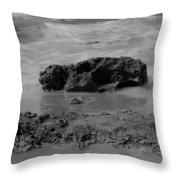 On Coast. Throw Pillow by Shlomo Zangilevitch