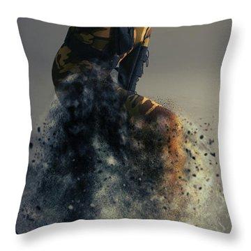 On Duty Throw Pillow