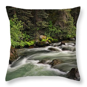 On Henson Creek Throw Pillow