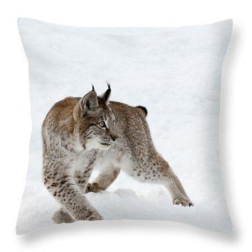 On High Alert Throw Pillow