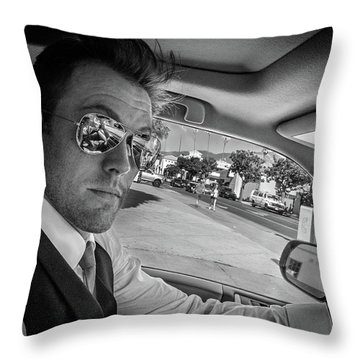 On His Way To Be Wed... Throw Pillow