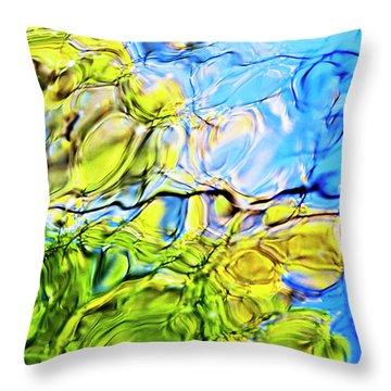 On Looking Up Throw Pillow