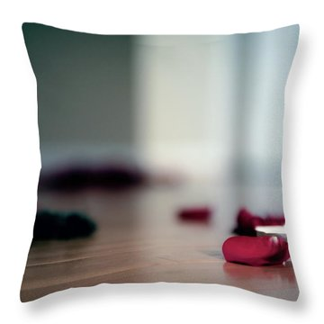 Throw Pillow featuring the photograph On Nature, Tragedy, And Beauty II by Break The Silhouette