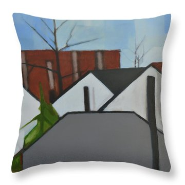 On Palisade Throw Pillow
