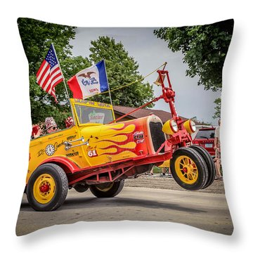 On Parade Throw Pillow by Ray Congrove