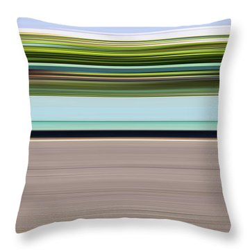 On Road Throw Pillow