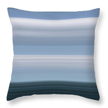 On Sea Throw Pillow