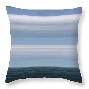 On Sea Throw Pillow
