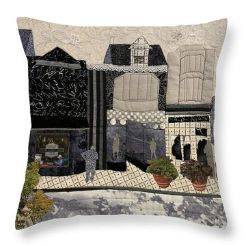On The Avenue Throw Pillow