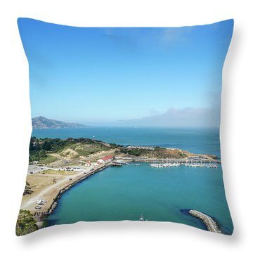 On The Bay Throw Pillow