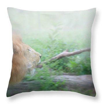 On The Charge Throw Pillow by Karol Livote