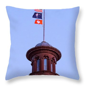 On The Dome-5 Throw Pillow