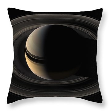 On The Final Frontier Throw Pillow by Nasa