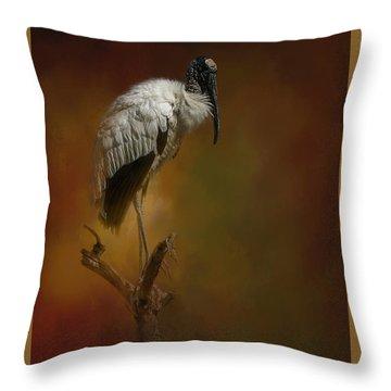 On The Fork Throw Pillow