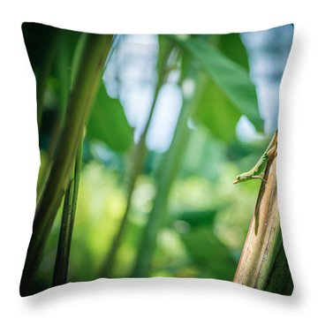 On The Guard Throw Pillow