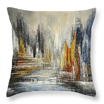 On The Hills Of Dream Throw Pillow