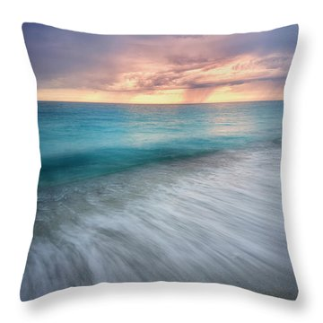 On The Horizon  Throw Pillow by Nicki Frates