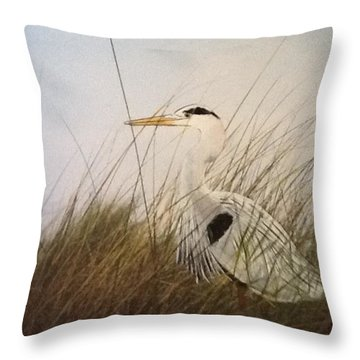 On The Hunt Throw Pillow by Catherine Swerediuk