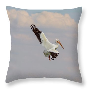 Throw Pillow featuring the photograph On The Hunt by James BO Insogna