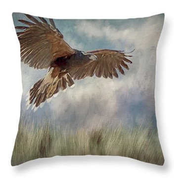 On The Hunt Throw Pillow