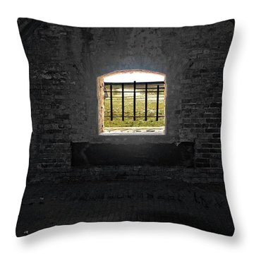 On The Inside Looking Out Throw Pillow