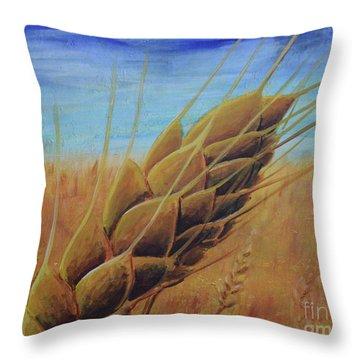 On The Kanza Throw Pillow